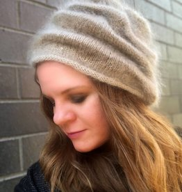 Mohair Hat w/Beads