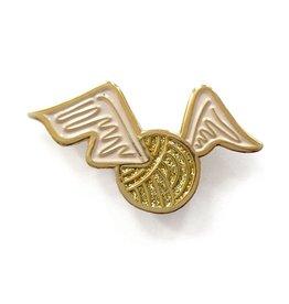 shelli Can Golden Stitch Pin
