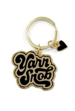 shelli Can Yarn Snob Keychain (Black)