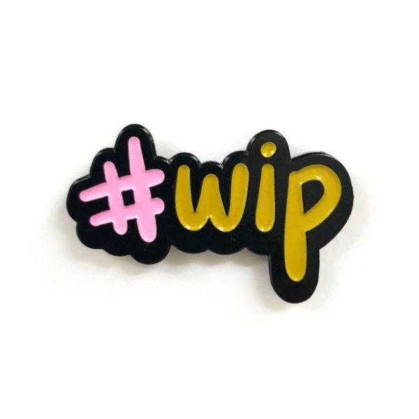 shelli Can #WIP Pin