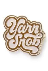 shelli Can Yarn Snob Pin (Ivory)