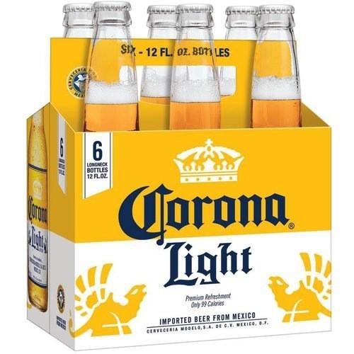 Cerveceria Modelo Corona Light, 6pk Bottles