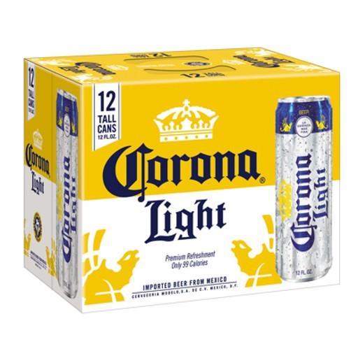 Cerveceria Modelo Corona Light, 12pk Cans
