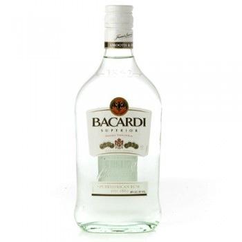 Bacardi Co. Bacardi Superior White Rum, 375mL