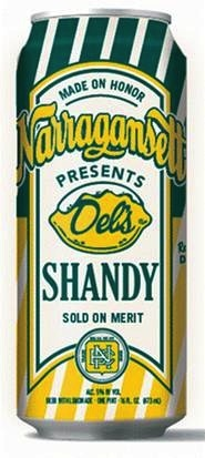 Narragansett Brewing Co. Narragansett Seasonal Single Shandy, Single