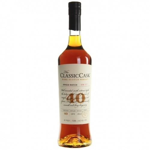 The Classic Cask Rare Scotch Whisky 40 Year Old