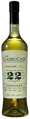 The Classic Cask Glencadam 22yr 1991 Single Malt Scotch