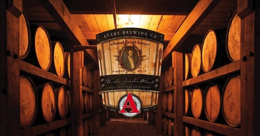 Avery Brewing Co. Avery Unlce Jacob's Stout Aged in Bourbon Barrels, Single