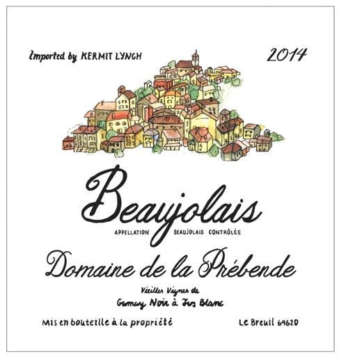Domaine de la Prebende Domaine de la Prebende 2015 Beaujolais