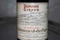 Domaine Giraud Domaine Giraud 2000 Chateauneuf-di-Pape