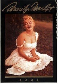 Marilyn Monroe 2001 Merlot, Napa