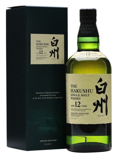 The Hakushu 12 Year Single Malt