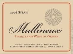 Mullineux 2014 Syrah, South Africa