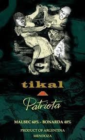 Tikal Patriota 2014 Malbec Bonarda Blend