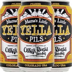 Oskar Blues Brewey Oskar Blues Mama's Little Yella Pils Beer, 6pk