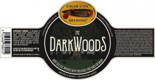 Cigar City Brewing Cigar City The Dark Woods Imperial Ale