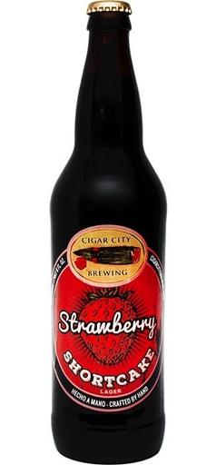 Cigar City Brewing Cigar City Strawberry Shortcake Lager, Pint