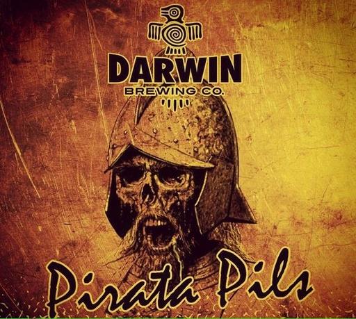 Darwin Brewing Darwin Brewing Pirata Pils, 6pk