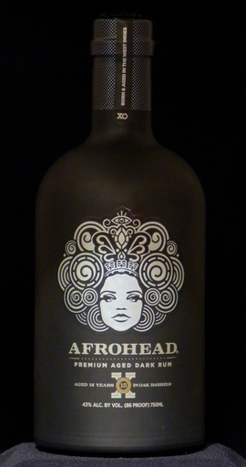 Afrohead Afro Head Premium 15 Year Aged Dark Rum