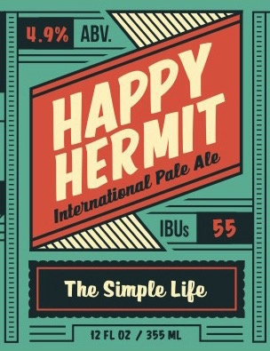 Green Bench Brewing Co. Green Bench Happy Hermit International Pale Ale, 6pk Cans
