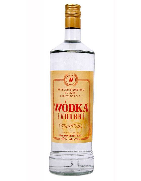 Wodka Vodka from Poland