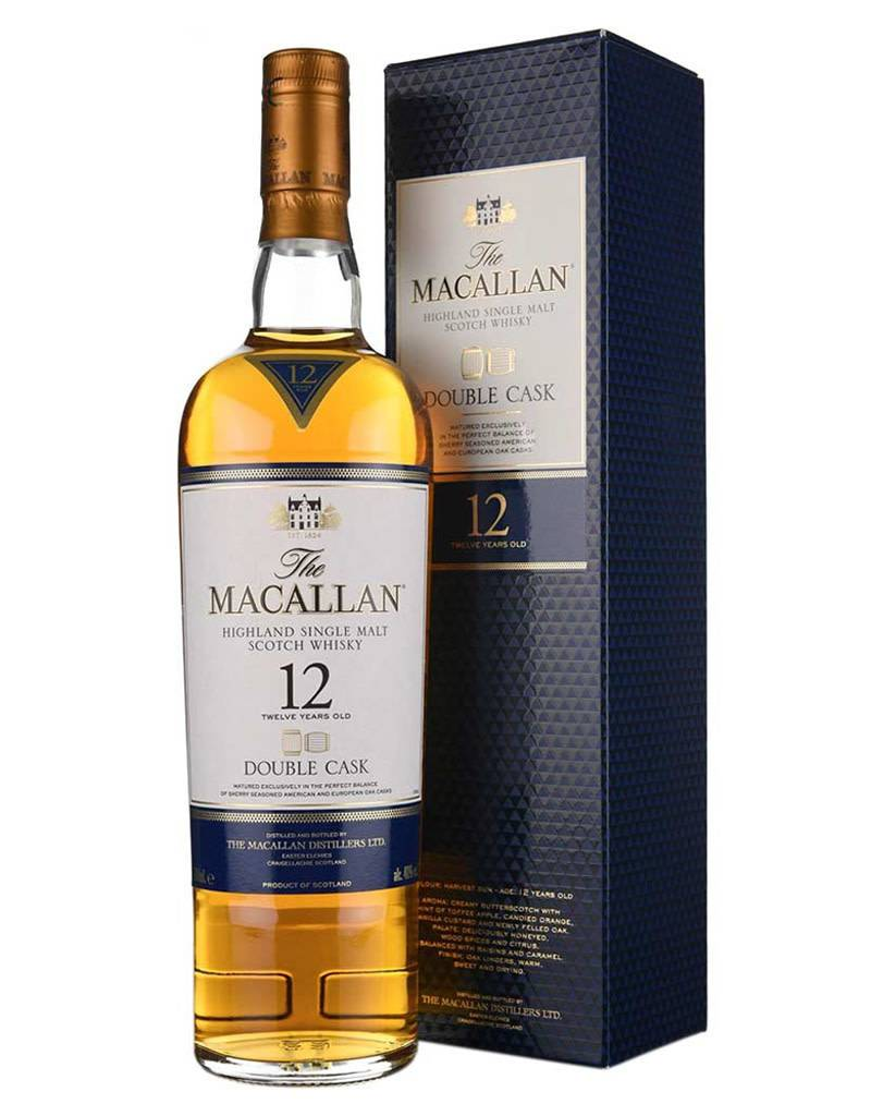 The Macallan 12 Year Double Cask Scotch Whisky