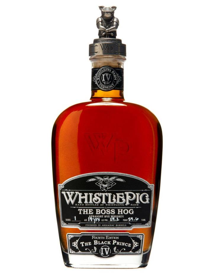 WhistlePig Boss Hog 'The Black Prince' 2017 4th Edition Rye Whiskey