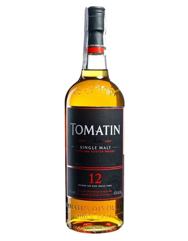 Tomatin 12 Year Highland Single Malt Scotch
