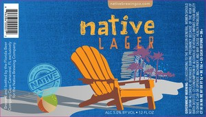 Native Brewing Co. Lager, 6pk Cans