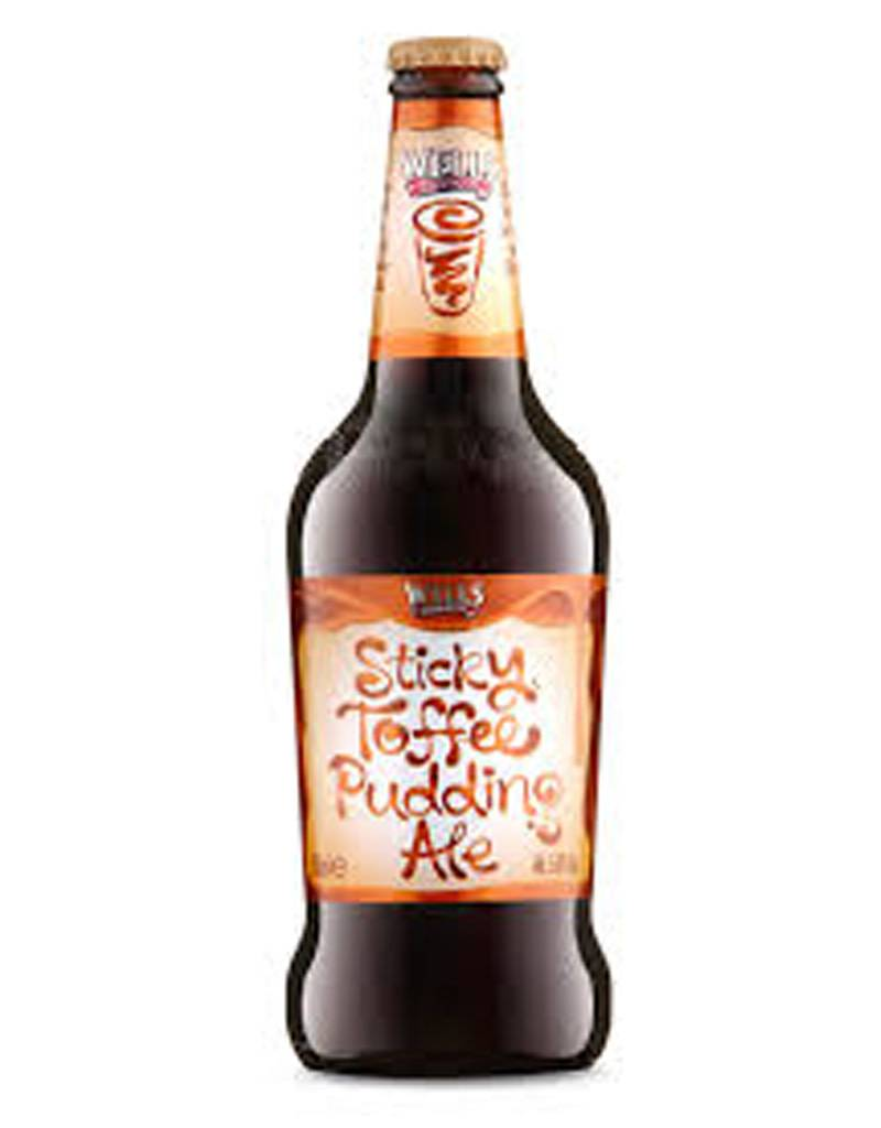 Wells Brewers Sticky Toffee Pudding Ale, 4pk Bottles
