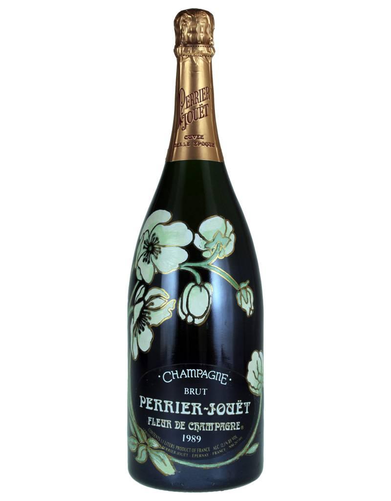 perrier jouet 1989 belle epoque cuvee champagne double magnum 3l the wine wave. Black Bedroom Furniture Sets. Home Design Ideas