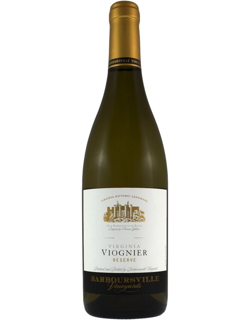 Barboursville Barboursville 2015 Viognier Reserve Estate
