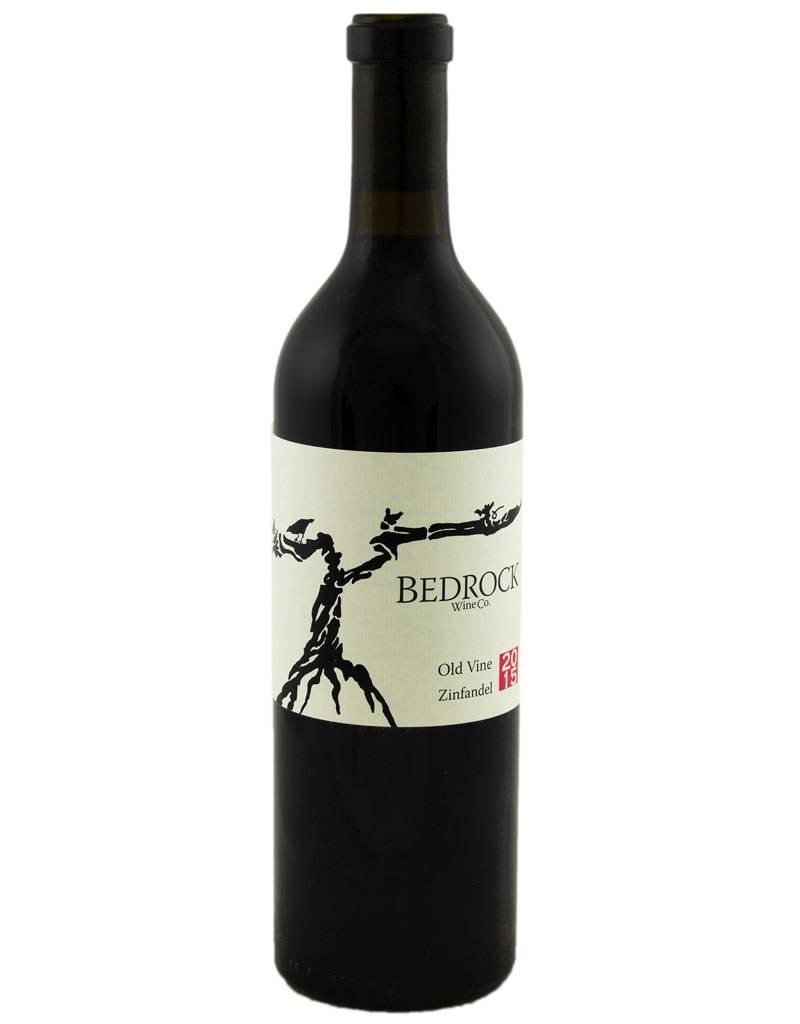 Bedrock Wine Co. 2015 Old Vine Zinfandel, Sonoma