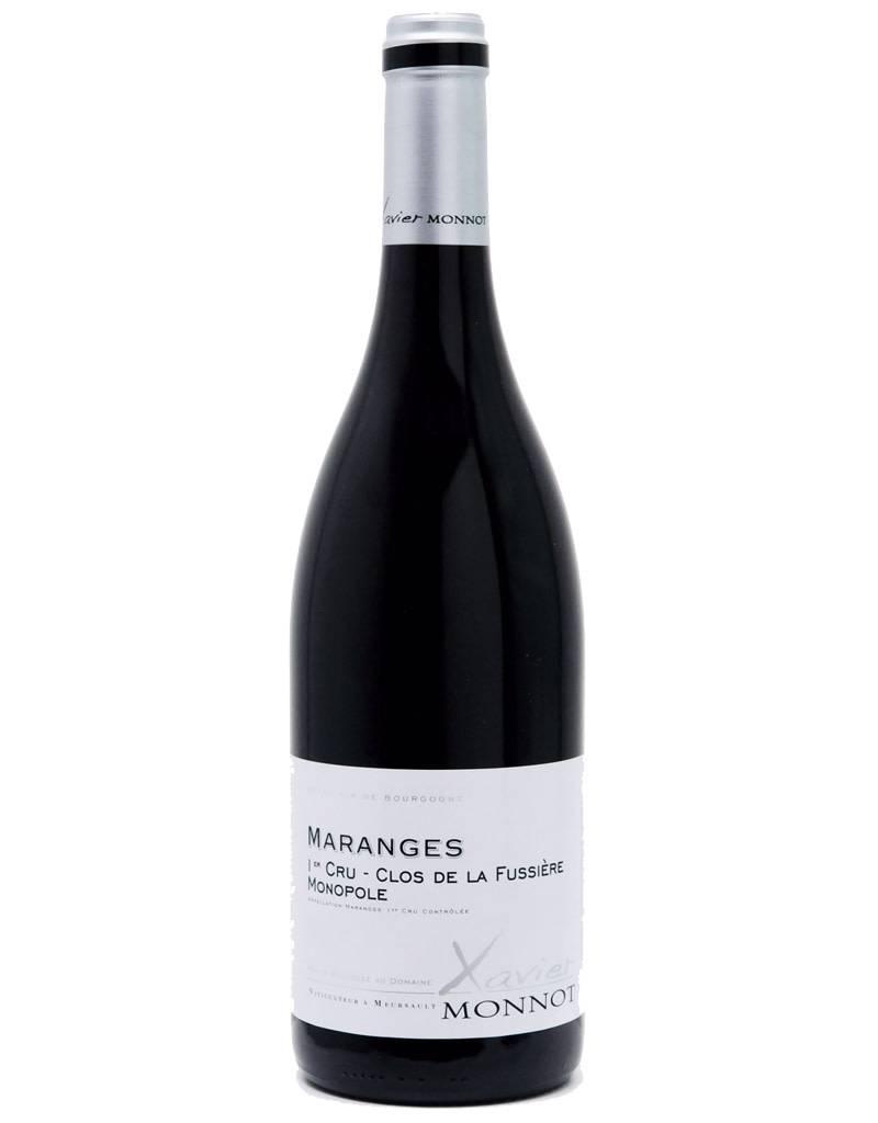 Xavier Monnot 2014 Maranges Premier Cru Clos de la Fussiere Monopole - Cotes de Beaune Red Burgundy