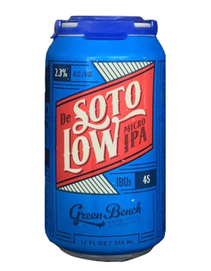 Green Bench Brewing Co. Green Bench Brewing Co. De Soto Low Micro IPA, 6pk Cans