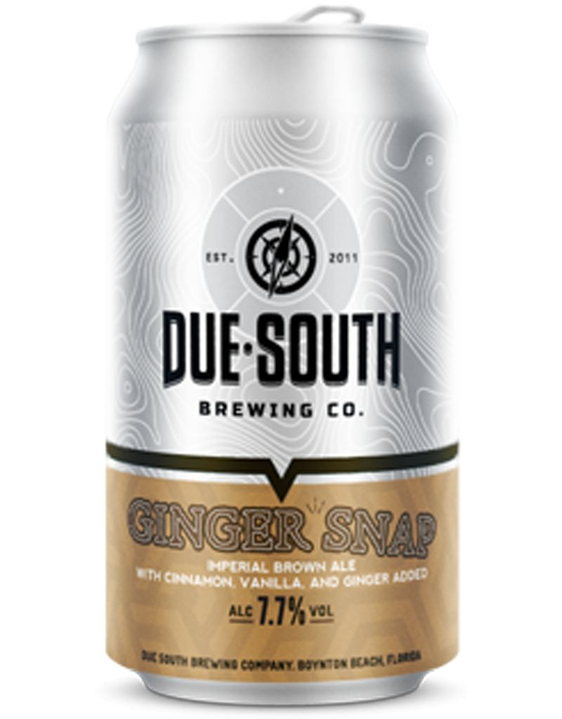 Due South Ginger Snap Imperial Brown Ale