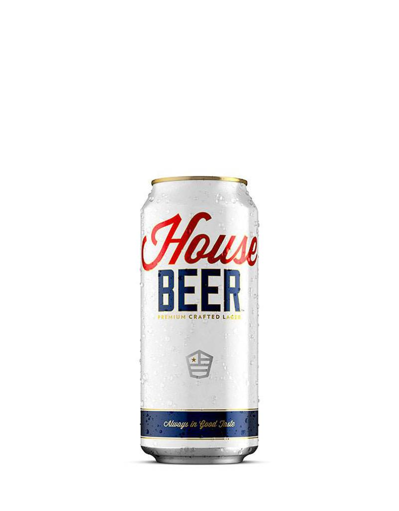 House Beer Lager, Single Can