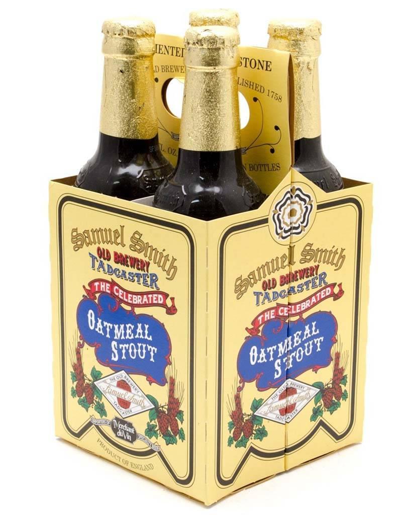 Samuel Smith Oatmeal Stout, 4pk Bottles