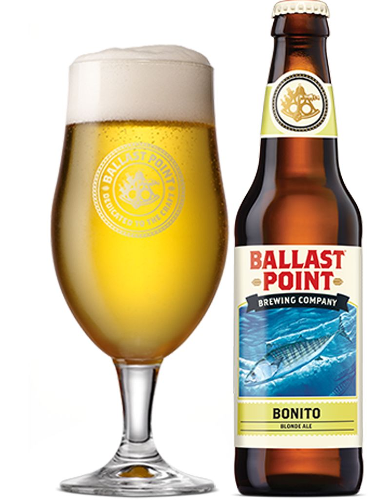 Ballast Point Bonito Blonde Ale, 6pk Cans
