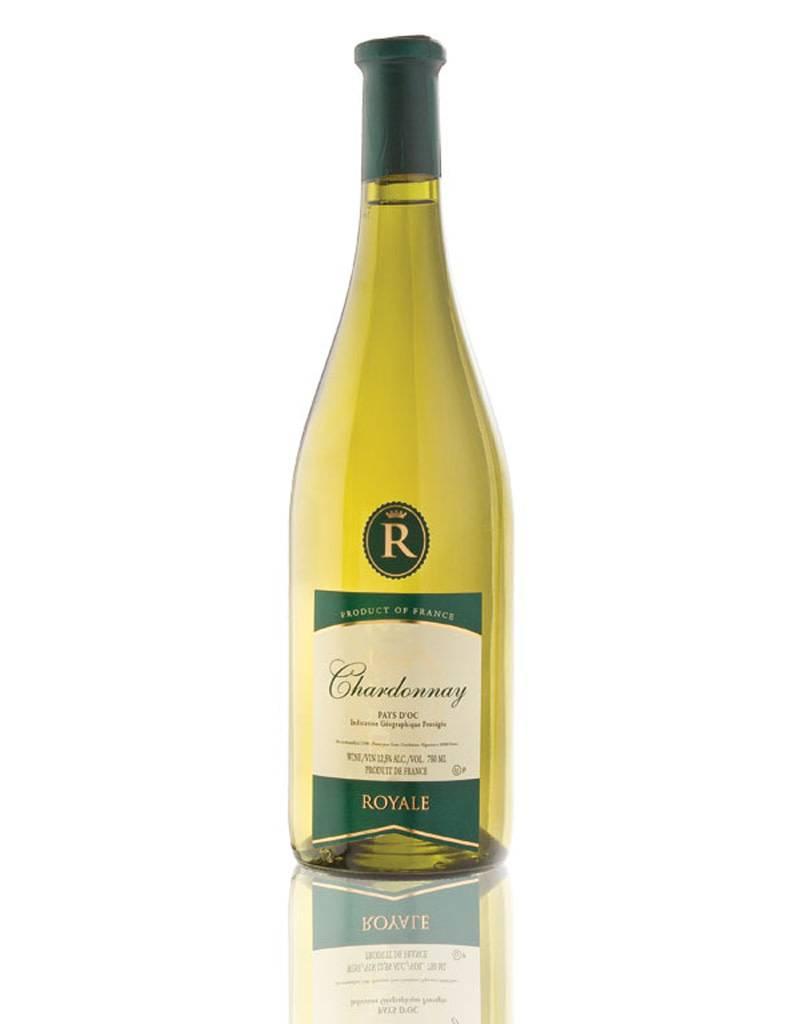 Royale 2015 French Chardonnay Kosher White Wine