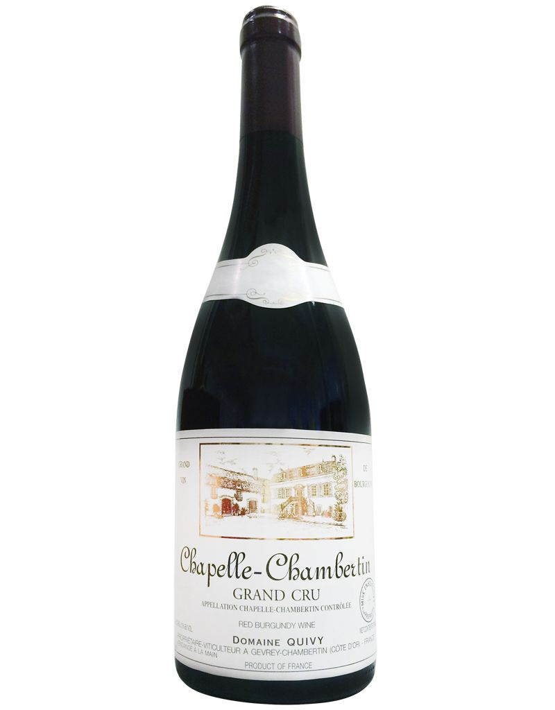 Domaine Quivy Domaine Quivy Chapelle-Chambertin 2009 Grand Cru Red Burgundy