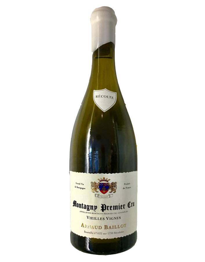 Arnaud Baillot Arnaud Baillot 2016 Montagny 1er Cru Vieilles Vignes