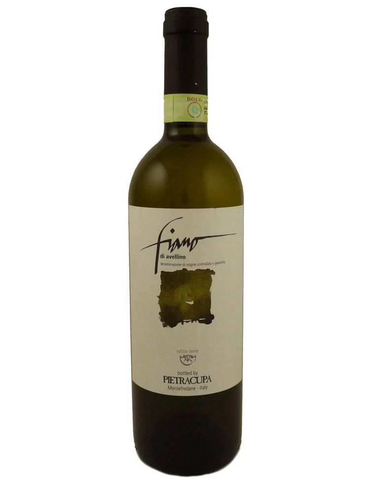 Pietracupa 2013 Fiano Di Avellino White Wine