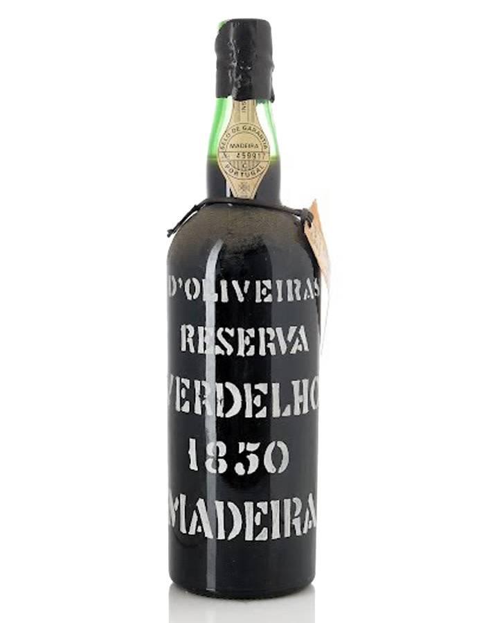 Pereira D'Oliveiras Pereira D'Oliveiras 1850 Verdelho Madeira [Bottled 1962]