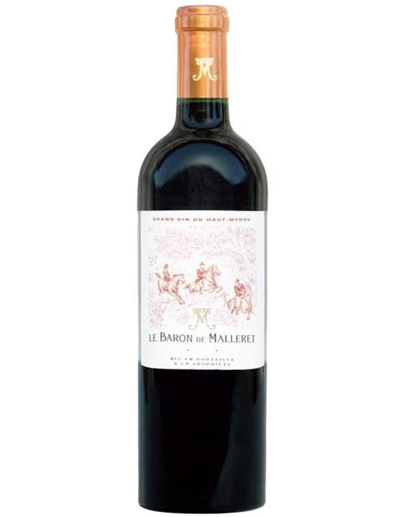Le Baron De Malleret 2012 Grand Vin De Bordeaux, Haut-Medoc