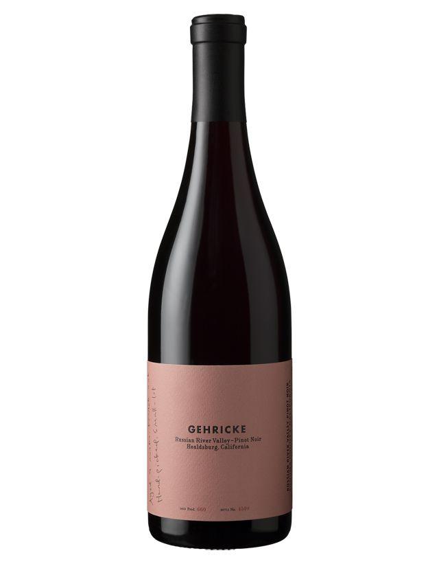 Gehricke 2014 Pinot Noir, Russian River Valley