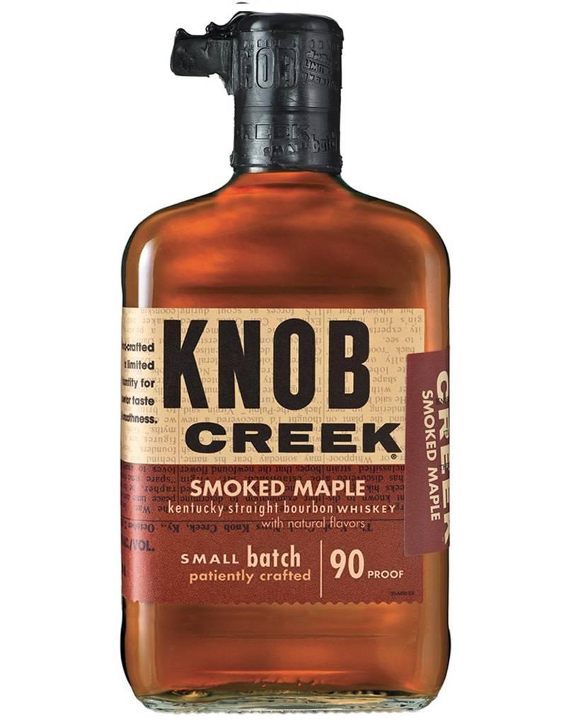 Knob Creek Smoked Maple Small Batch Straight Bourbon Whiskey, Kentucky