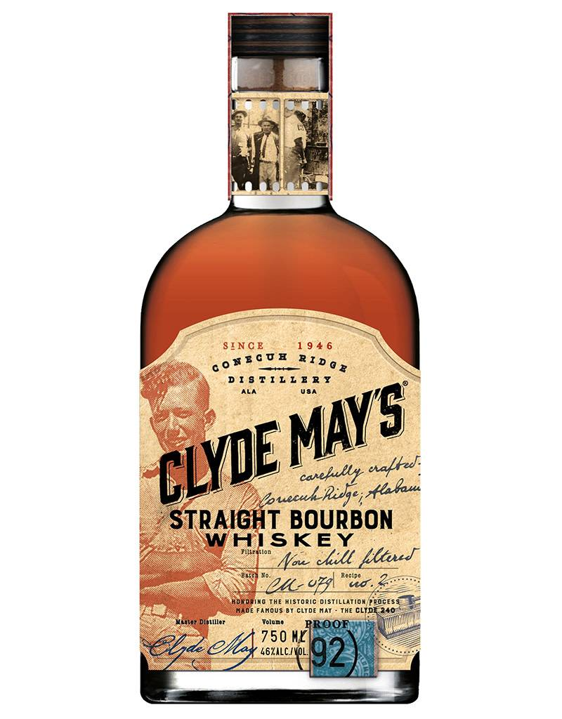 Clyde May's Clyde May's Straight Bourbon Whiskey from Alabama