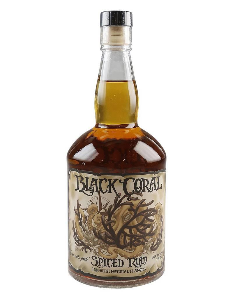 Black Coral Rum Black Coral Spiced Rum