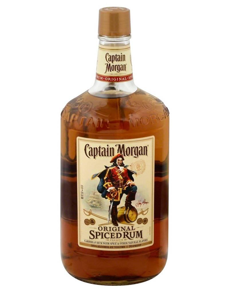 Captain Morgan Rum Co. Captain Morgan Original Spiced Rum, 1.75L